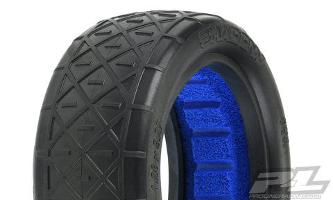 "PROLINE Shadow 2.2"" 2WD S3 (Soft) Off-Road Buggy Front Tires (2) (with closed cell foam) -"