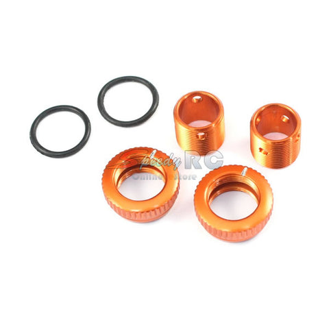 Radtec Aluminum Body Height Fine Adjuster Set Orange BA-10001
