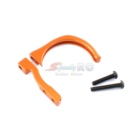 Radtec 30mm & 40mm Aluminum Motor Cooling Fan Mount Orange MA-10009