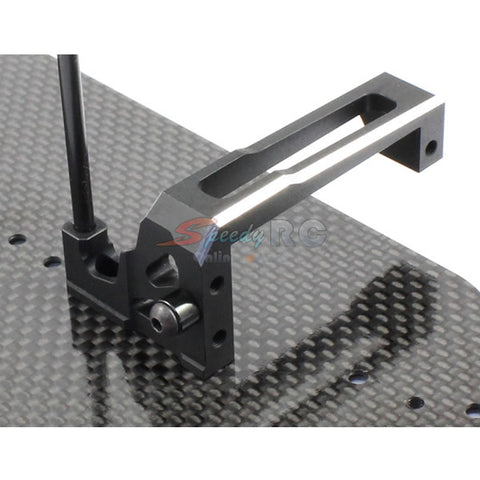 Radtec Aluminum Floating Servo Mount for Yokomo BD7 2014 15 YK-10010