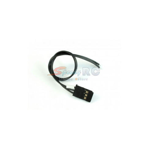 ROCHE Futaba Servo Wires with Golden Connector Black ROC-SW01