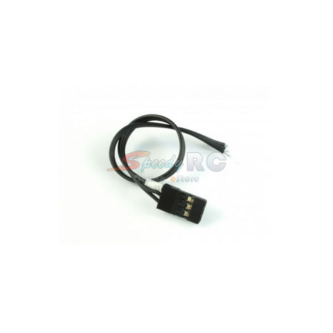 ROCHE JR Sanwa Servo Wires with Golden Connector Black ROC-SW02