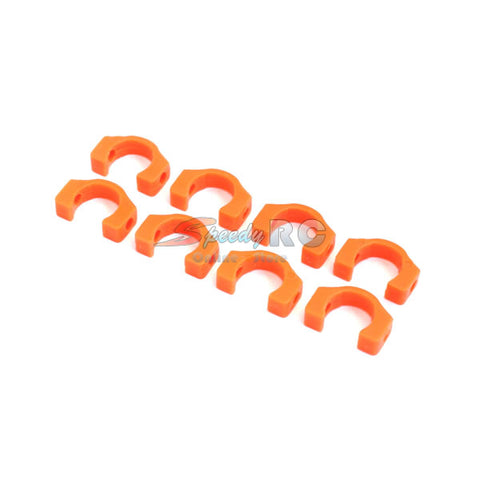 XR-10027 3.5mm POM C-blade for Xray T4, 8 pcs (Orange)
