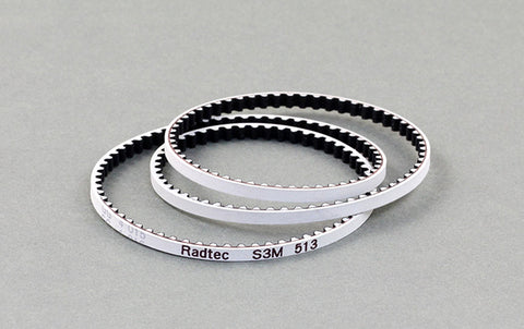BEL-20003 Radtec Low Friction White Rear Drive Belt (S3M189) for Stock (T4/BD8SV/A800/IF14/Destiny)