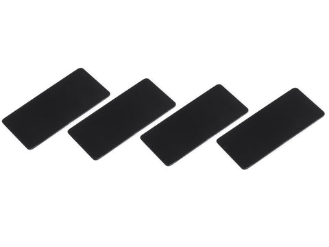 SMJ1141C  WING ENDPLATE for 1/10 Touring Car (Black/0.5mm/4pcs)