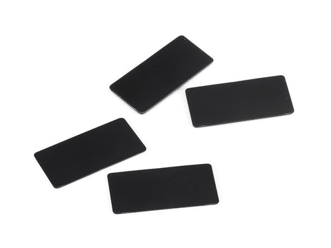 WING ENDPLATE for 1/10 Touring Car (Black/0.8, 0.5mm/each 2pcs)