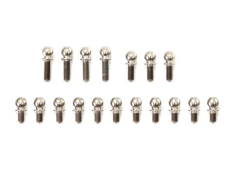 T260 IF14-2 TITANIUM BALL END 4.9mm SET 18pcs