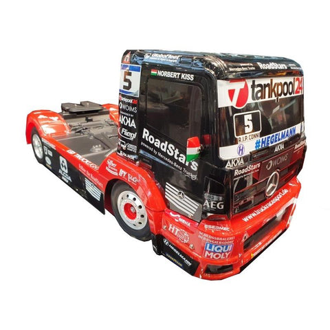 Tamiya 1/14 Tankpool 24 Racing Mercedes Benz Actors MP4 RC Truck (TT-01 Type E Chassis) 58683