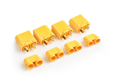 XT-90 Plug Male(Male bullet with female housing)4pcs/bag TRC-0105BM
