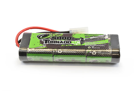 Tornado Rc 3600mah 7.2v Stick Pack with Tamyia plug - TRC-3600