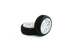 TORNADO RC BUGGY 1/8 TYRE SET 1 PAIR PRE GLUED