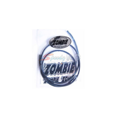Team Zombie 14AWG Silver Silicone Wire Black