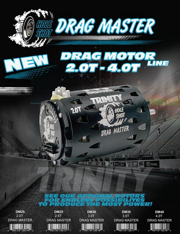 DRAG MASTER 2.5T HOLESHOT BRUSHLESS MOTOR DM25