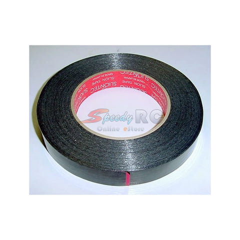 Xenon Racing Fibre Reinforced Tape Black 17mmx50m PAT-0233