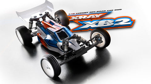 XRAY XB2 - 2019 SPECS - 2WD 1/10 ELECTRIC OFF-ROAD CAR - LAYDOWN EDITION - XY320006