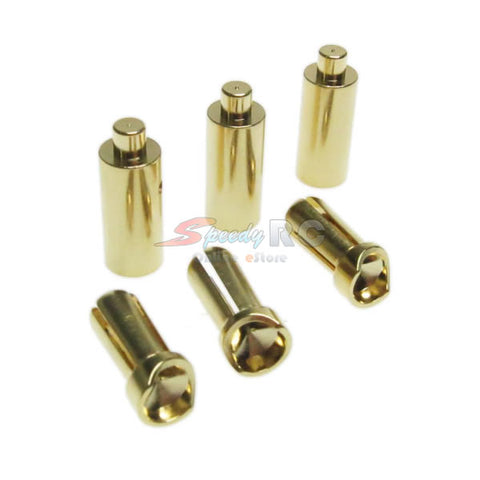 Yeah Racing 3.5MM Brushless Motor Connector Set Banana Plug BC-0013