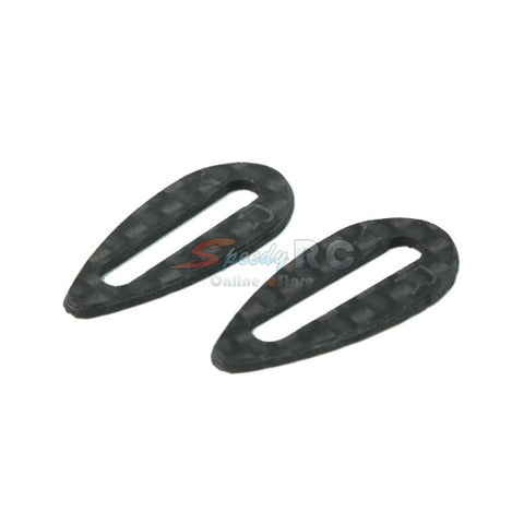 Yeah Racing Graphite Body Wing Protector for On Road Car Bodies