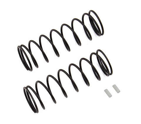 team associated Front Springs V2, white, 5.1 lb/in, L70, 9.25T, 1.6D ass81223