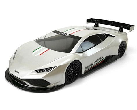 Bittydesign AGATA 1/10 GT Body (Clear) (190mm) BDYGT-190AGT