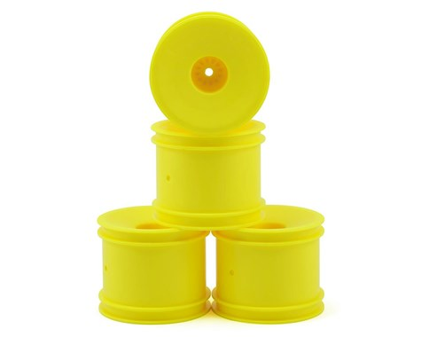 "DE Racing 12mm Hex ""Speedline"" 2.2"" 1/10 Stadium Truck Wheel (4) (T4.2) (Yellow) DER-SS4-AY"