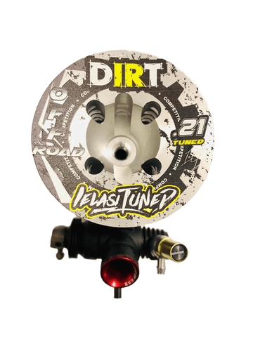 DIRT .21 BUGGY OS IELASITUNED DIRT .21 BUGGY SHAFT WITH DLC COATING, CERAMIC REAR BEARING HANDTUNED 2020 COMBO KIT SPECIAL OFFER