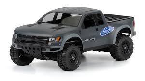TRUE SCALE FORD F-150 RAPTOR SVT CLEAR BODY PR3389-00