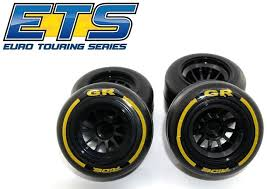 Rear wheel/Tire GF F1  Super Hiigh grip compound