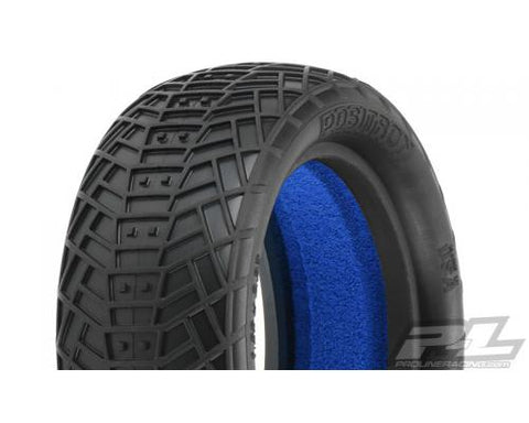 POSITRON 2.2IN MC CLAY FRONT BUGGY TYRES