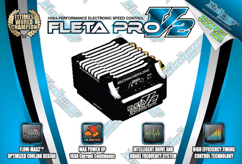 Fleta Pro V2 Brushless Esc Blk (Mr-Me-Flp2K)