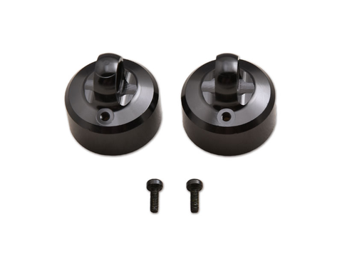 Q 16mm CNC Vented Shock Cap with Screw (BE, WE)  JQB0341A