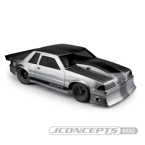JConcepts 1991 Ford Mustang – Fox Body - Clear Body JC-0362