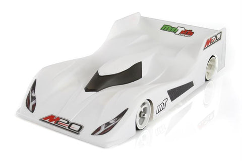 Mon-Tech M20 1/12 Clear Body La Leggera (Lightweight) MB-019-016L