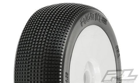 Proline Fugitive Lite X2 Med Mounted 1/8 Buggy Tires 9058-032