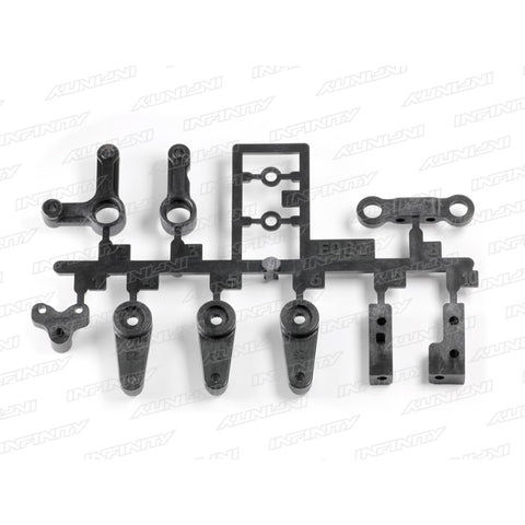 F002 - STEERING ARM / MOUNT SET