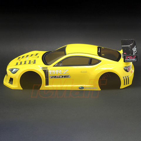 SUBARU BRZ Race Concept bodyshell for M-Chassis Pre-printed YELLOW