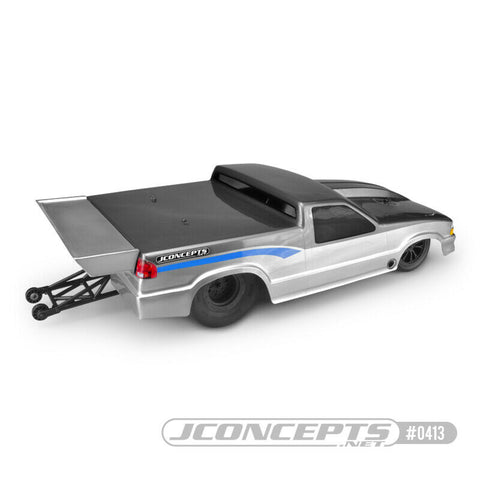 JCO0413 JC 0413 JConcepts 2002 CHEVY S-10 DRAG TRUCK CLEAR BODY