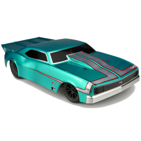 Jconcepts 0400 1967 Chevy Camaro Street Eliminator Drag Racing Clear Body