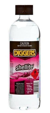 Diggers Shellite Recosol R55 1 Litre lighter fuel 1563463