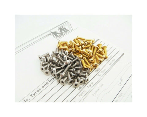 Hiro Seiko Mi7 Low Center of Gold Gravity Screw Set HS-48584