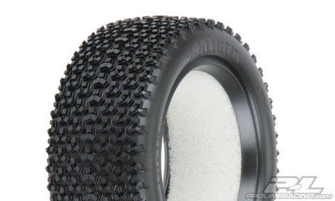 "Caliber 2.2"" 4WD M3 Soft Off-Road Buggy Front Tires #8211-02 RC10B44 XXX4"