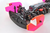 TOE AND CAMBER GAUGE 1/10TH TOURING CAR (SET) PINK
