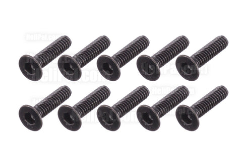 INFINITY G128 Flat Head Hex Socket Screw M2 x 8mm (10 pcs)