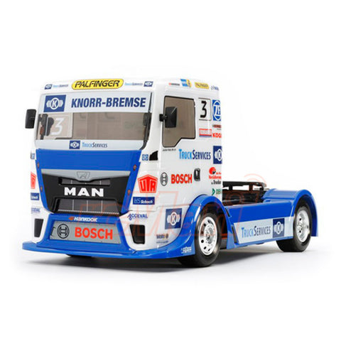 Tamiya Team Hahn Racing - MAN TGS Clear Bodyshell 51606