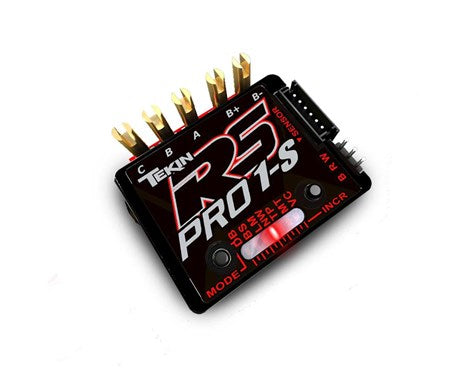 Tekin RS Pro Black Edition BL 1S 1/12 Sensored/Sensorless Brushless ESC
