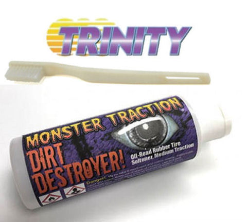 TRINITY Blue Groovie Monster Traction Clay w/Brush TRITEP5008