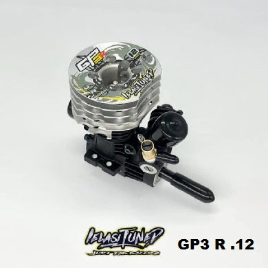 GP3.12 ON OS IELASITUNED GP3 .12-R ONROAD 2,1cc CERAMIC REAR BEARING, SHAFT WITH DLC COATED, HAND TUNED 2021
