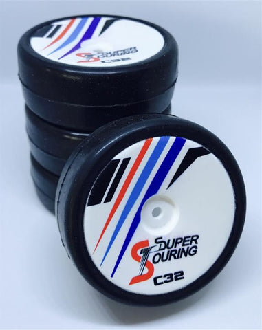 Super Touring Tires set CARPET by ProjectRC 32 sh. (4)