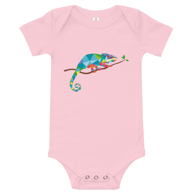 Chameleon Baby Short Sleeve One Piece