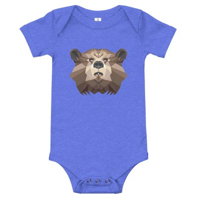 Bear Baby Short Sleeve One Piece