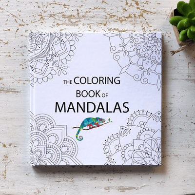 The Coloring Book of Mandalas Hardcover